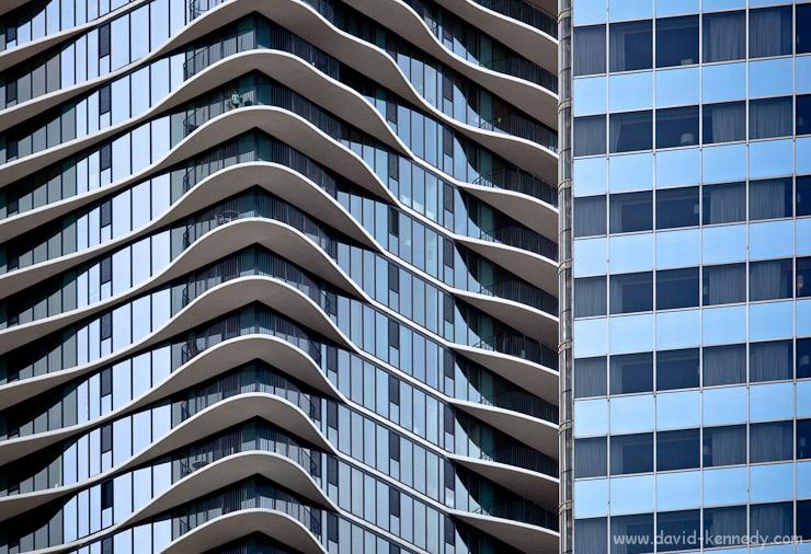 Aqua skyscraper