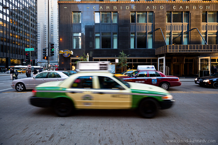 Taxi and Carbide and Carbon Building