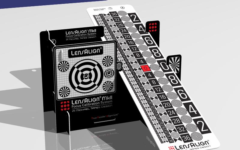 LensAlign MkII rendering