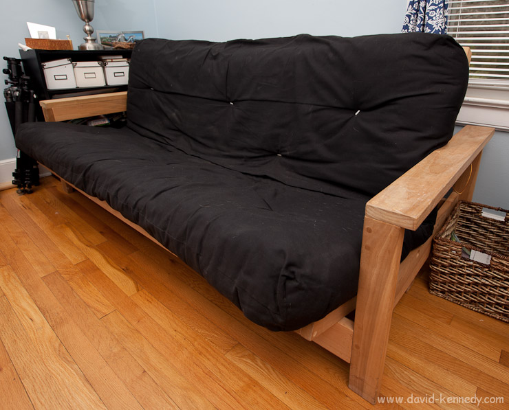 A futon became a printer