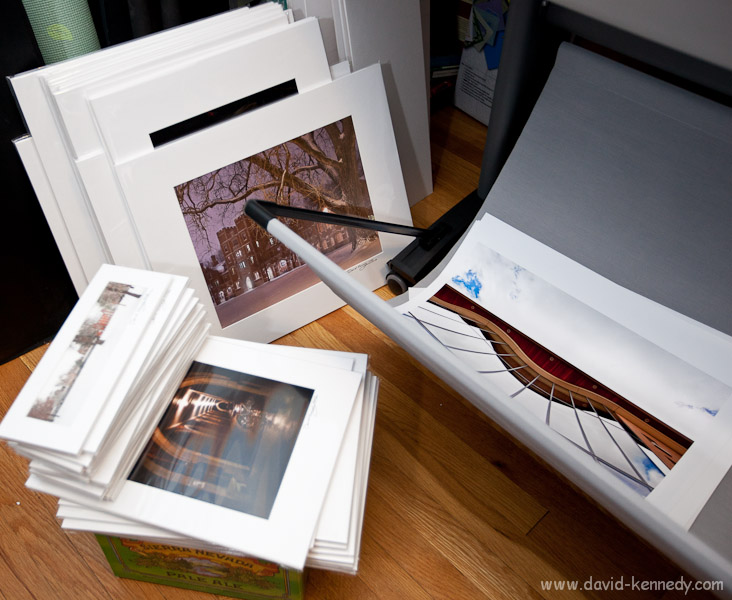 Grinnell prints ready for sale